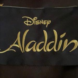 NWT Disney Aladdin cosmetic zip bag